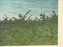 Reproduction Japanese Color Woodblock Print 1930 Mt. Fuji from Tagonoura Bridge image 4