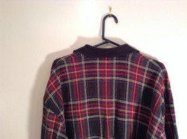 Red Green Black Blue Yellow Plaid Polo Shirt Roundtree and York Size XXL image 6