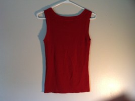 Red Sleeveless Willi Smith Size Small Tank Top Rayon and Nylon image 4