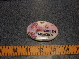 Refrigerator Magnet Cree en Milagros Believe in Miracles with Angel image 4