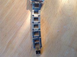 Relic Rectangle Face Gold and Silver Tone Watch Clasp Closure Adjustable image 7