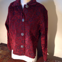 Antique look Button Long Sleeve Shirt with Collar by Touch of Blue Size Small image 3