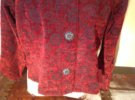 Antique look Button Long Sleeve Shirt with Collar by Touch of Blue Size Small image 9
