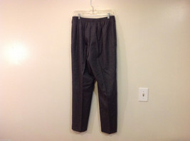 Applesee's Ladies Gray 100% Wool Fully Lined Elastic Back Waist Pants, Size 12 image 2