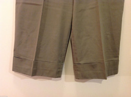 Appraisal Khaki Gray Adjustable Waist Shorts, Size 14 image 4