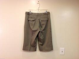 Appraisal Khaki Gray Adjustable Waist Shorts, Size 14 image 2