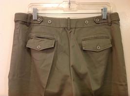 Appraisal Khaki Gray Adjustable Waist Shorts, Size 14 image 5