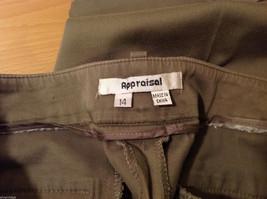 Appraisal Khaki Gray Adjustable Waist Shorts, Size 14 image 7