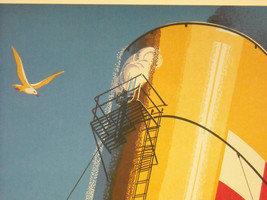 Reproduction Print of Vintage Travel Ad for Canadian Pacific Empress Steamship image 5