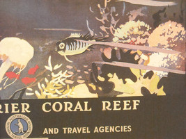 Reproduction Print of Vintage Travel Ad for Australia Great Barrier Reef image 4