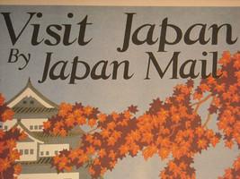 Reproduction Print Vintage Travel Ad Japan N.Y.K. Line Japan Mail image 5