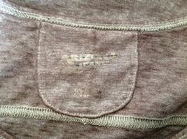 Arizona Dark Mauve Faded Scoop Neck High Low Waist Short Sleeves Shirt Size XL image 6