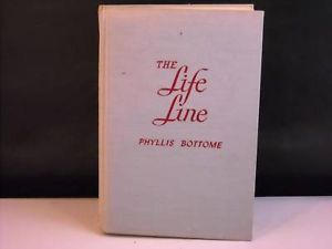 The Life Line by Phyillis Bottome 1946 vintage book
