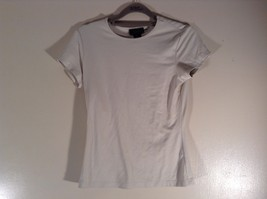 The Limited Stretch Size XL Short Sleeve Off White Top Made in USA image 1