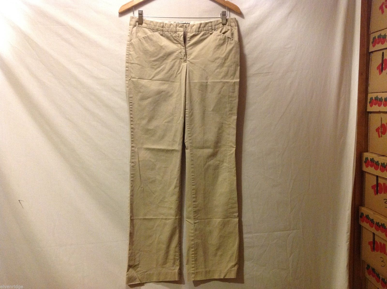 The Limited Womans Tan Khaki Pants, Size 6