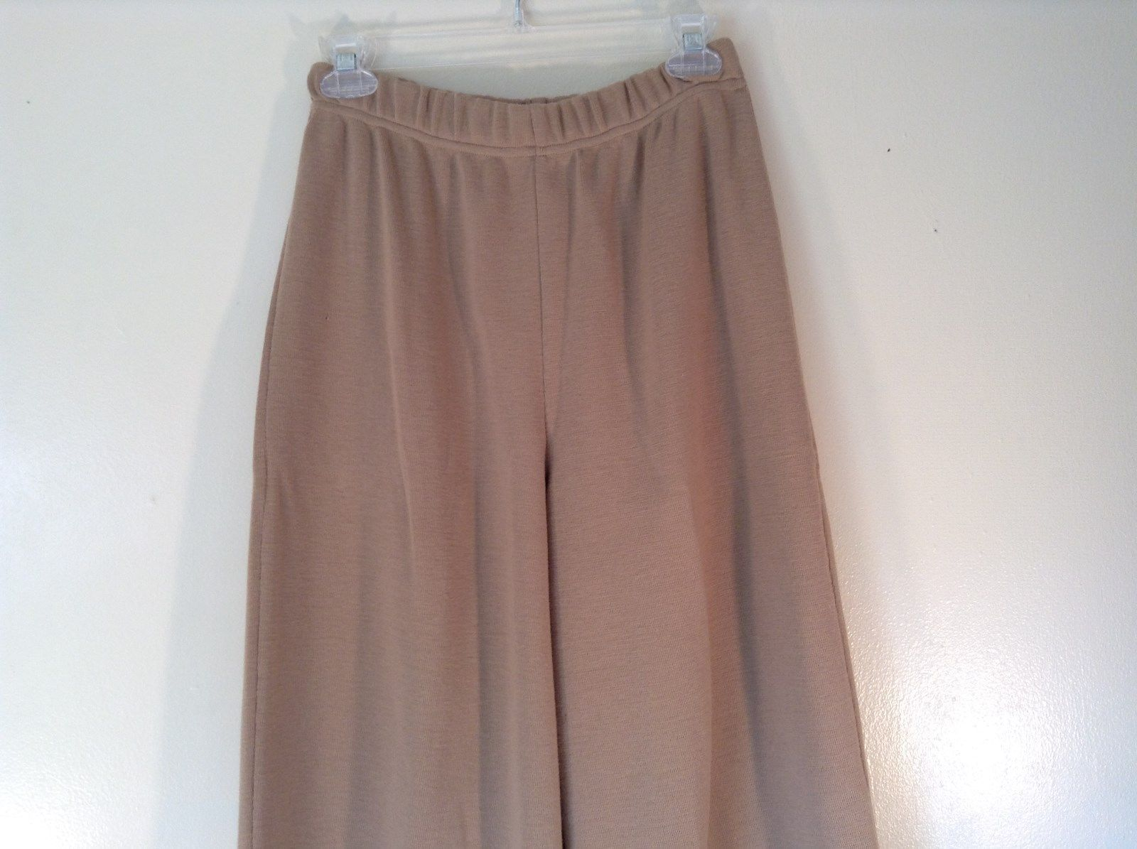 The Works Saks Fifth Avenue Brown Stretchy Waist Casual Pants Size Medium