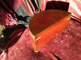 Rosewood   Jewelry Box by Bombay Company Two Sections no key image 4