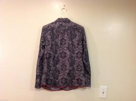 Roper Wear the West Ladies 100% Cotton Gray Snap Buttons up Blouse Shirt, Size L image 2