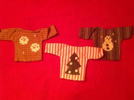 Three Shirts Christmas Ornament by Primitives by Kathy Christmas Tree Snowmen - $17.81
