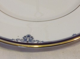 Royal Doulton Princeton pattern china serving plate with handle vintage estate image 2