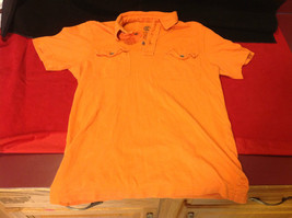 Timberland Ladies Red Polo Shirt Size Small Petite