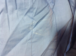 Riders by Lee blue button up v neck shirt  size XL image 4
