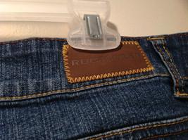 Rocawear Size 22 Stretchy Blue Jeans Excellent Condition Zipper Button Closure image 8