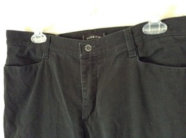 Riders Black Jeans Size 14P Button and Zipper Closure Front and Back Pockets image 3