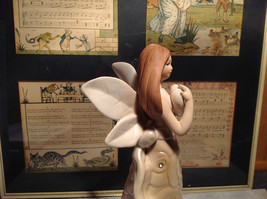 Rose Angel Porcelain Figurine by Angel Star Angel with Heart New In Box image 5