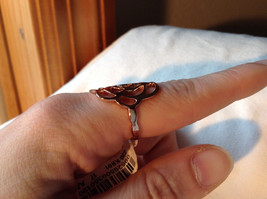 Rose Flower Design Rose Gold Tone Fashion Ring Size 6.25 and 7.5 by Rigant  image 5