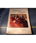 Toulouse Lautrec Book 16 Beautiful Full Color Prints 1952 Excellent Cond... - $49.49