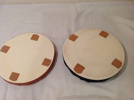 Round Tabletop Hand Made Zen Garden Dish or Plant Pot Saucer Tray Bamboo design image 2
