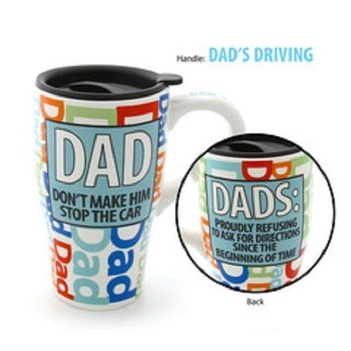 Travel Mug Dads Proudly Refusing to Ask for Directions Since Beginning of Time