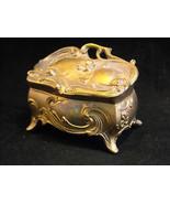 Trinket Box Baroque style floral design - $39.99