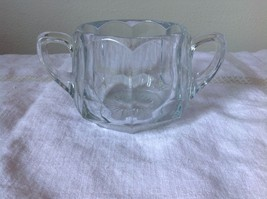 Two Handle Glass Cup H Eight Sided - $39.99