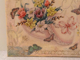 Russian Artist Handmade Vintage Decorative Canvas  Spring Flowers L Mironova image 5