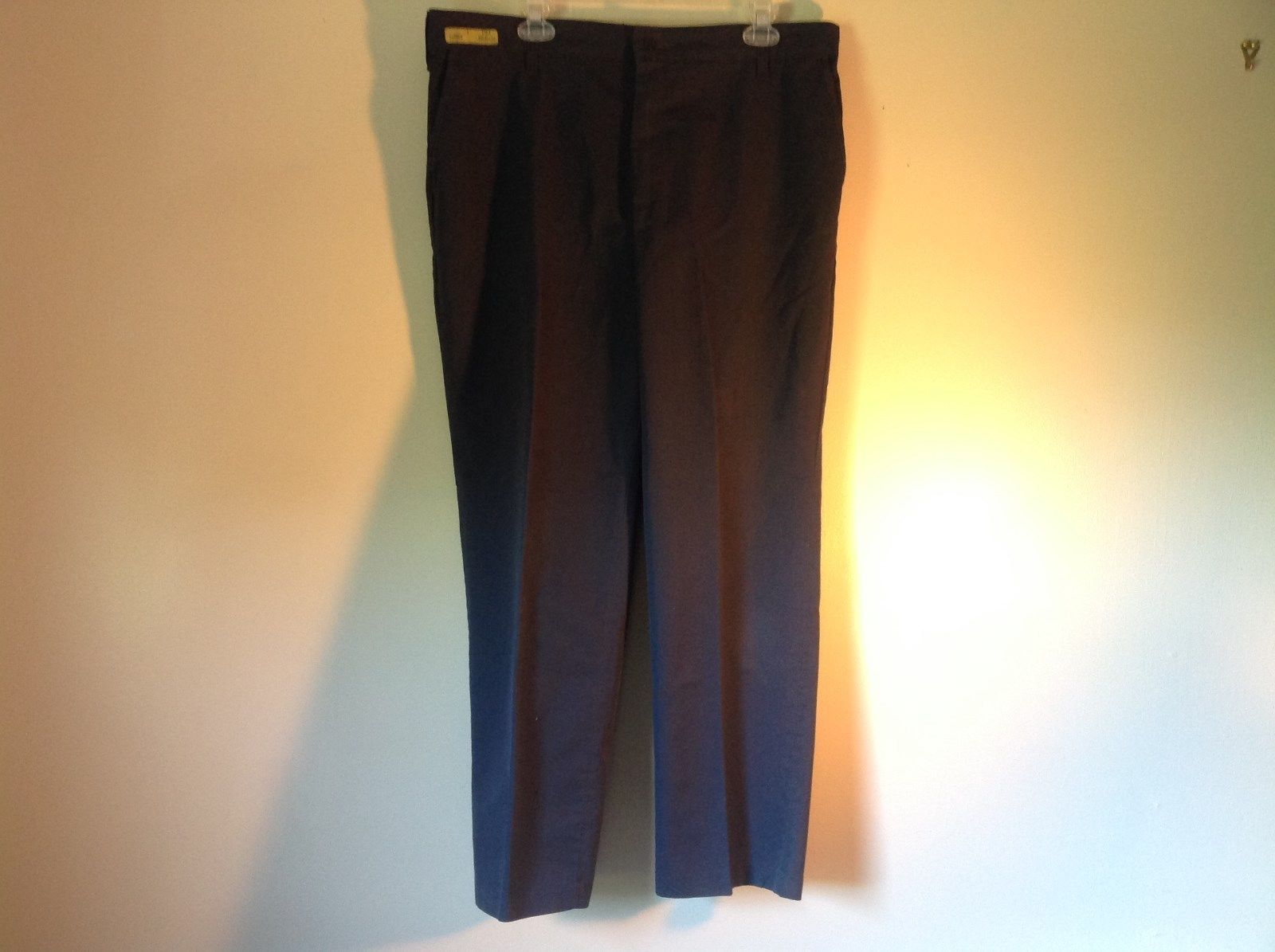 U1ST Size 38 by 28 Durable Press Blue Work Pants Made in USA