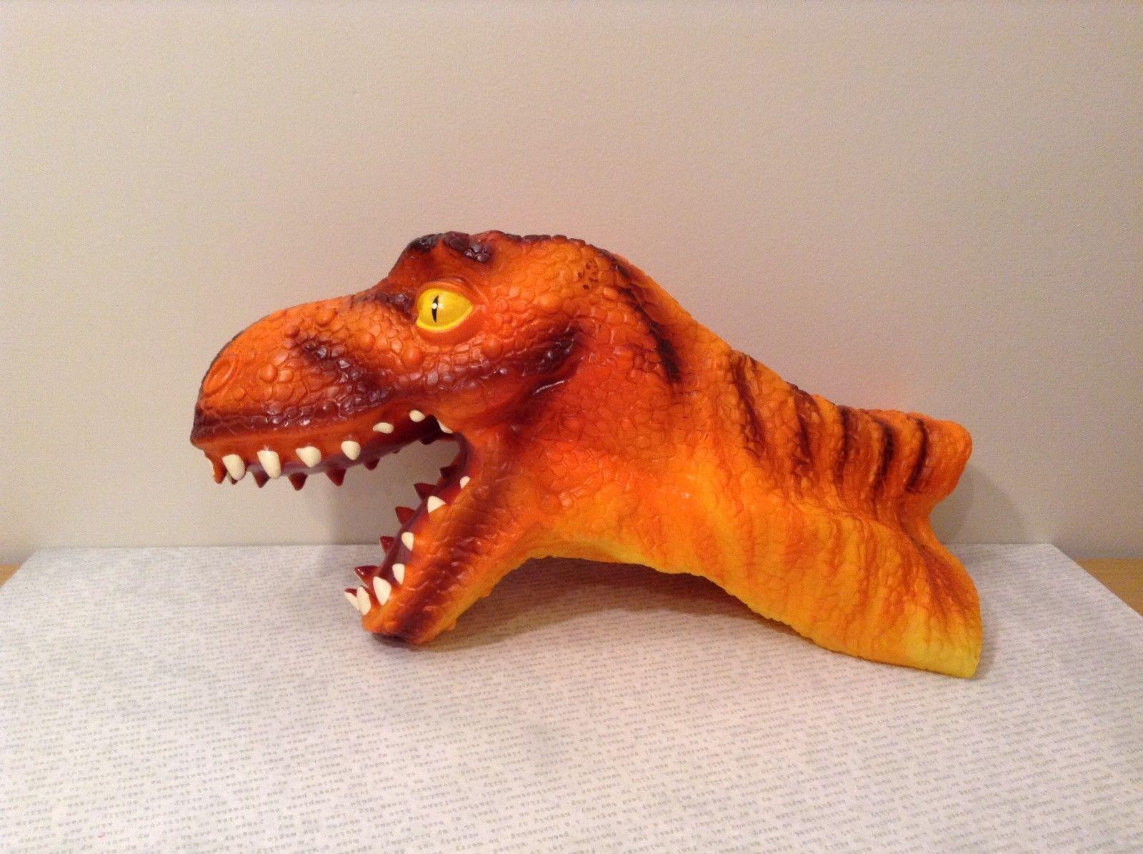 Tyrannosaurus hand puppet large life like realistic