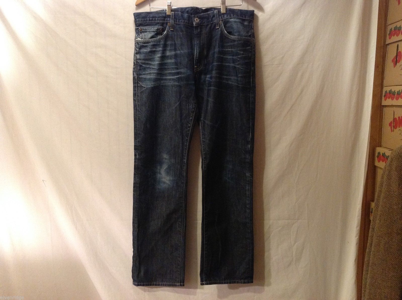 UJ Mens Denim Jeans, Size 35X32