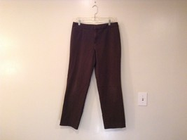 Unlisted Kenneth Cole Production Brown Casual Pants Size 12 Front Back Pockets