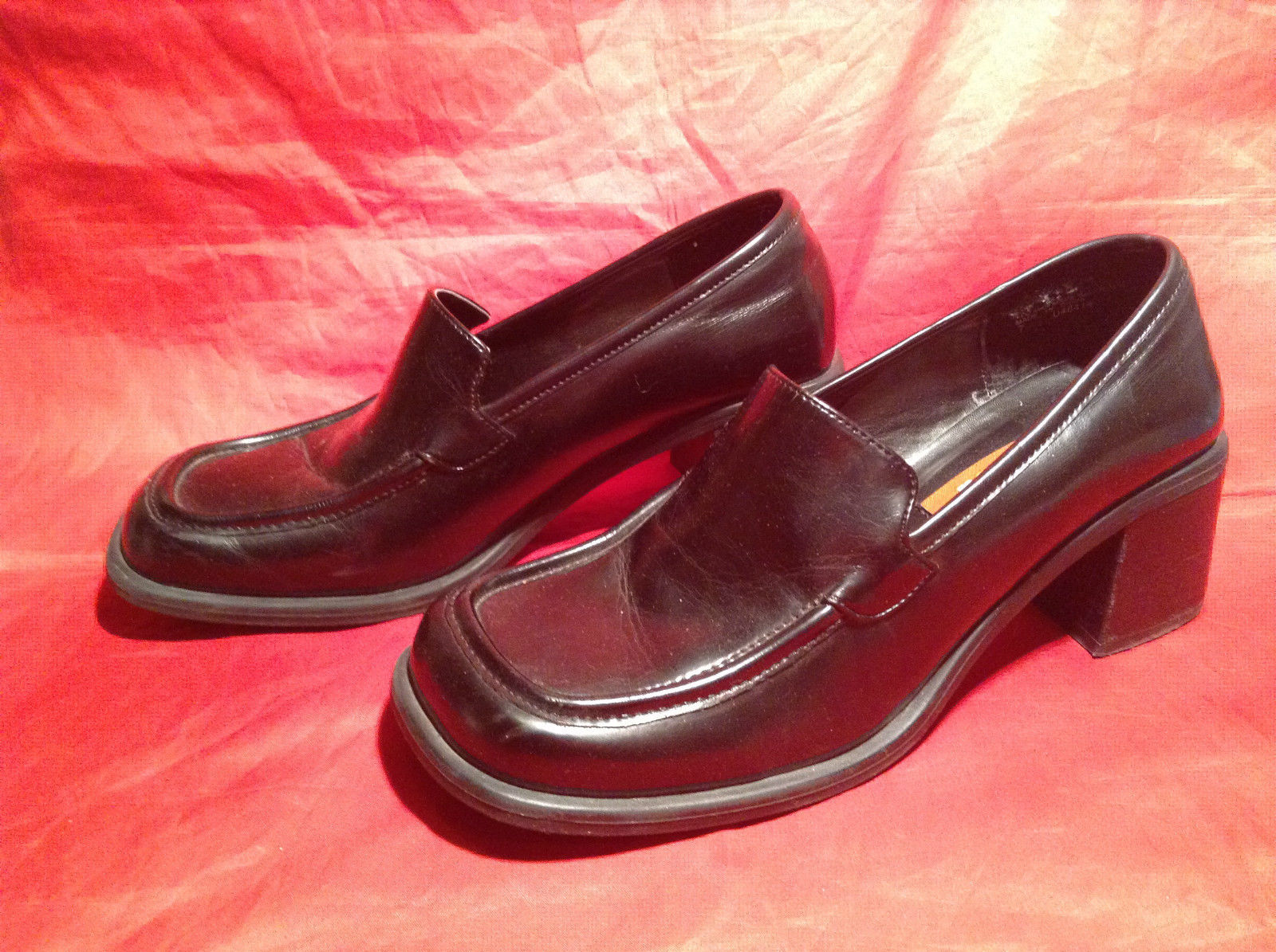 Unlisted by Kenneth Cole Production Size 7 Black Heel Casual/Dress Shoes