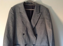 Sabre London Gray Suit Jacket Made In England 100 Percent Wool No Size Tag image 2