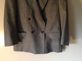 Sabre London Gray Suit Jacket Made In England 100 Percent Wool No Size Tag image 3
