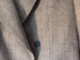 Sabre London Gray Suit Jacket Made In England 100 Percent Wool No Size Tag image 4