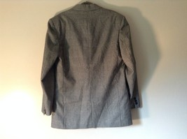 Sabre London Gray Suit Jacket Made In England 100 Percent Wool No Size Tag image 6