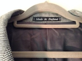 Sabre London Gray Suit Jacket Made In England 100 Percent Wool No Size Tag image 5