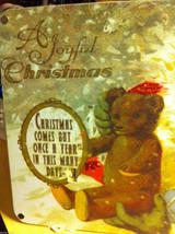 Santa Joyful Christmas Wooden Primitive Countdown Calendar from 31 Days image 3