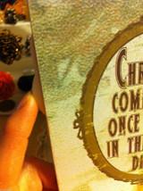Santa Joyful Christmas Wooden Primitive Countdown Calendar from 31 Days image 6