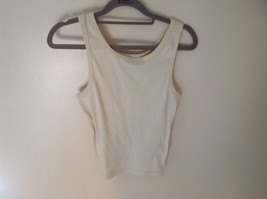 Very Light Green Tank Top Stretchy Material Currants by Jeri JD Size Large
