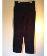 Van Heusen Stretch Black Corduroy Casual Pants Size 4 - $39.59